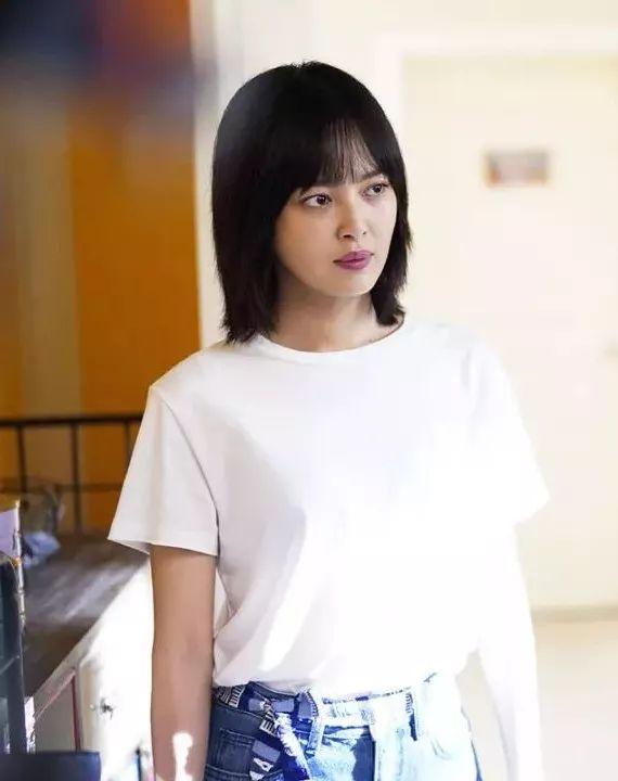 辛芷蕾林飒发型图片