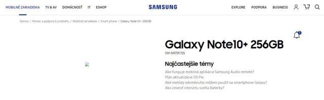 「事儿」又是临时工?Galaxy Note 10+被三星官网意外曝光……
