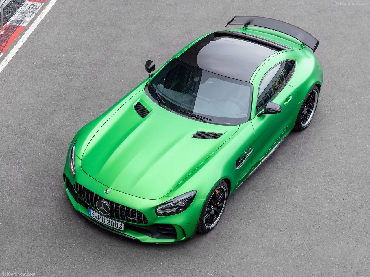绿色猛兽 咆哮而至 梅赛德斯-AMG GT