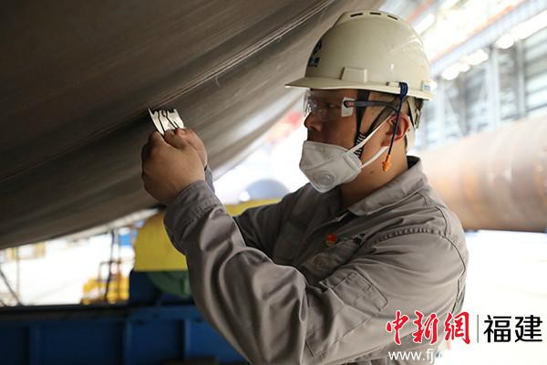福船一帆陆伟大:我是风电人 更是中国共产党员
