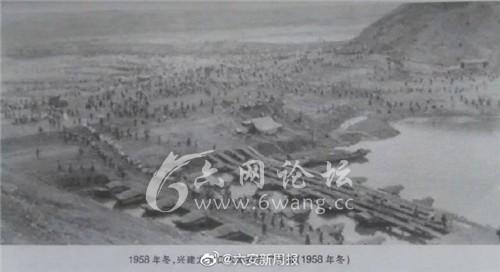 【看我六安七十变】风雨六十年!多幅当年修建龙河口照片首度公布!