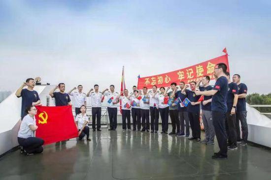 哈尔滨海事局与南岗区退役军人事务局开展联学联建 共庆建军92周年