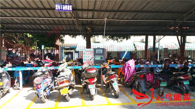 浙江柯桥区今年计划投资1200万元 建小区电动自行车充电桩800个