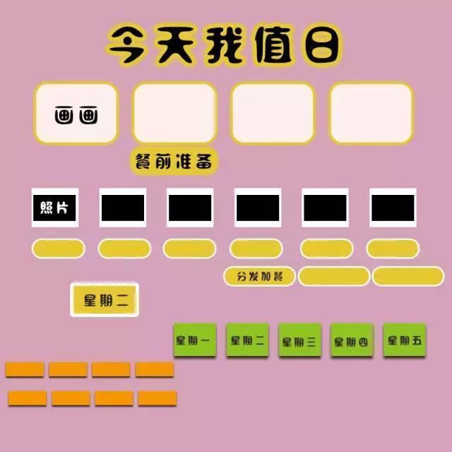 亚洲幼幼文学_最实用的幼幼园值日表,赶紧收藏打印