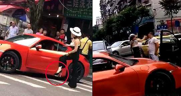 「豪車公主」與男司機街頭互扇耳光:好教養才是父母給女兒的保護傘