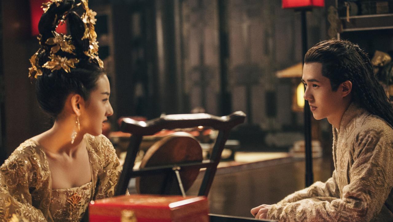 《九州》小舟见到羽然后眉头紧蹙,暗自忧伤,不只因为她是世子妃