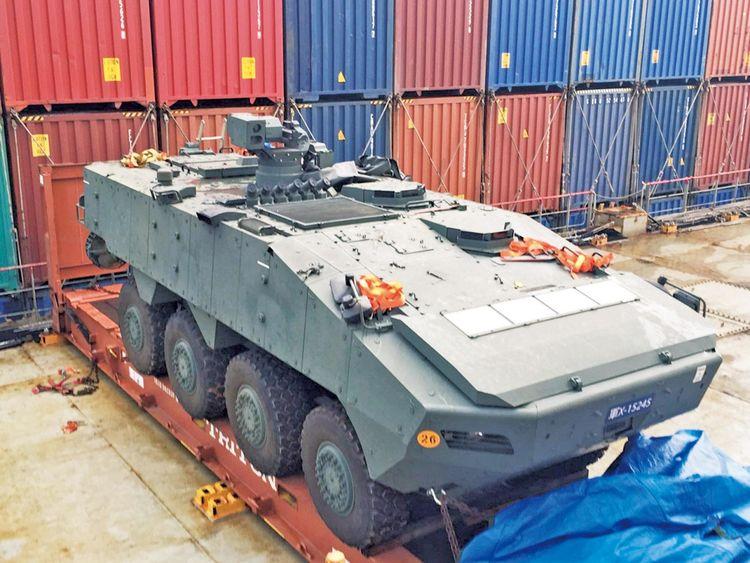 美企把中国当清政府,偷运9辆装甲车,中方严厉惩处大快人心!