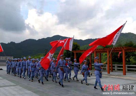 厦大学生党支部书记示范培训班赴革命老区培训与社会实践