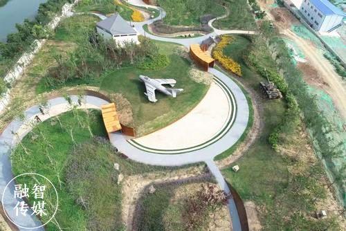 许昌新建一座大型公园!有飞机、坦克……