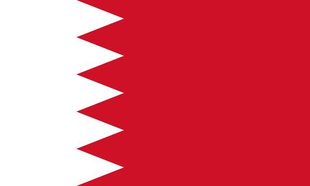 (上图: 巴林国旗)