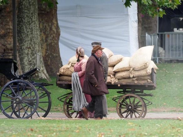 《大侦探福尔摩斯3》即将开拍 外媒爆伦敦片场照