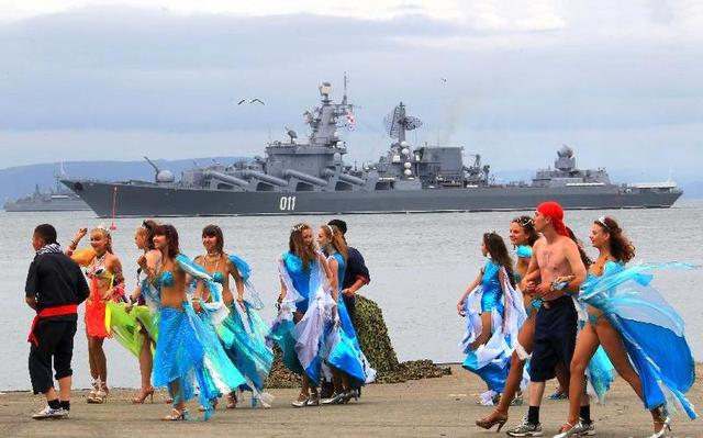 世界海军哪家强?斯拉夫人这样想:美国不是第一,中国不是第二