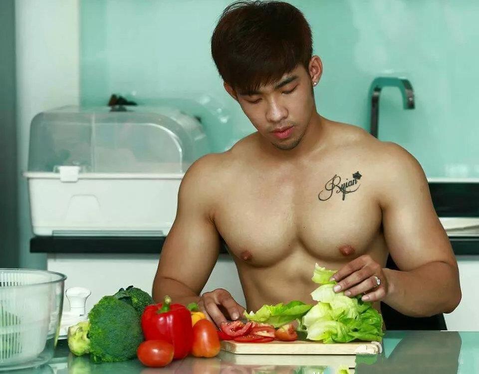 超模好身材是吃出来的?