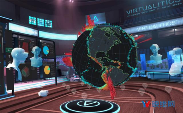 """分析平台Virtualitics通过AI+VR为""""数据科学""""带来沉浸式创造力"""