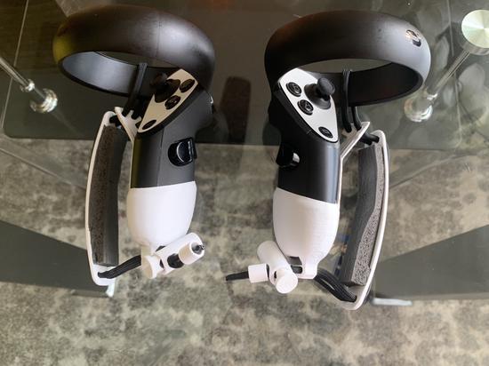 Reddit用户通过3D打印将touch手柄改成valve手柄