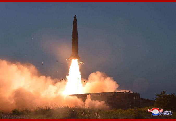 韩军又搞错了 朝鲜称昨天试射火箭弹并非导弹