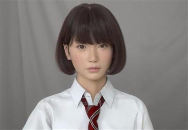 """日本高颜值""""女机器人"""",兼备女性所有""""性能"""",受当地人热捧"""