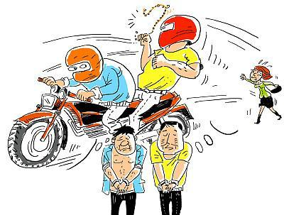 """广东一男子20岁开始骗盗抢,这回飞车抢劫是""""六进宫""""了"""