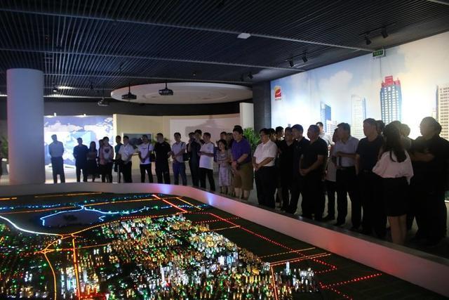 山东省淄博市应急管理系统前来高新区调研安全生产和应急管理工作