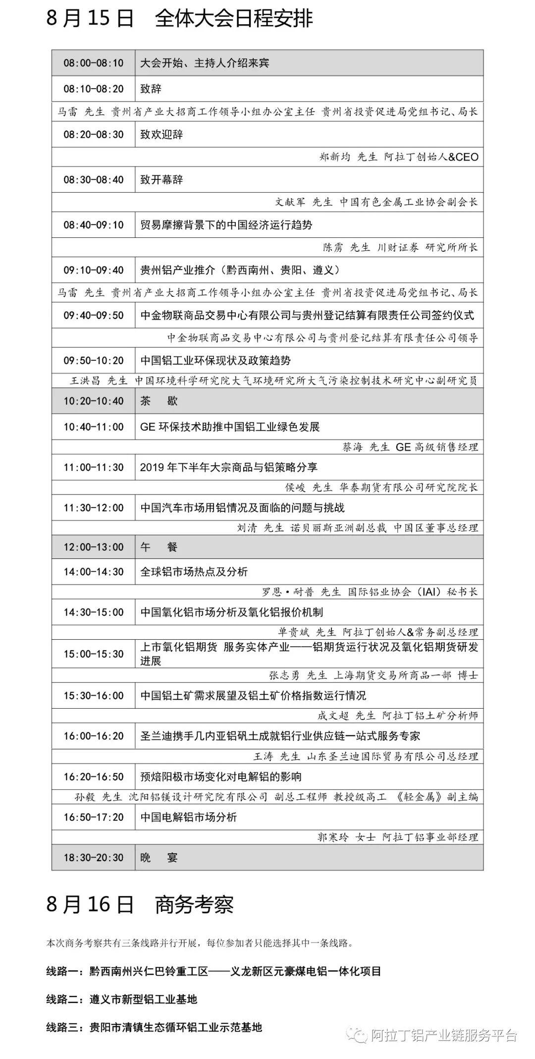 2019中国铝业峰会智慧会务系统插图(1)