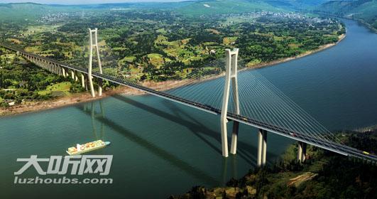 泸州多座大桥建设稳步推进  长江八桥年内开工