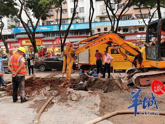 天河员村街地界为何到处开挖?街道:正在进行路面品质化提升