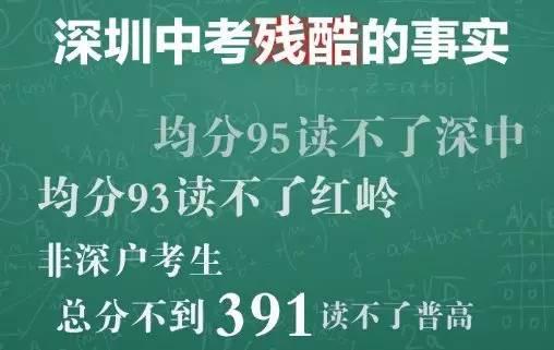 """解决高中学位严重不足问题 深圳或将建""""高中城"""""""