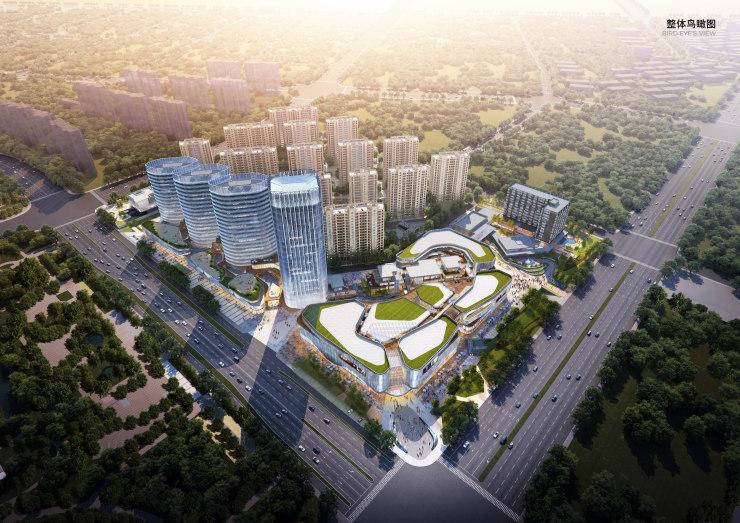 黄山高铁CBD二期、三期规划公示 拟建酒店、商业、商务办公等
