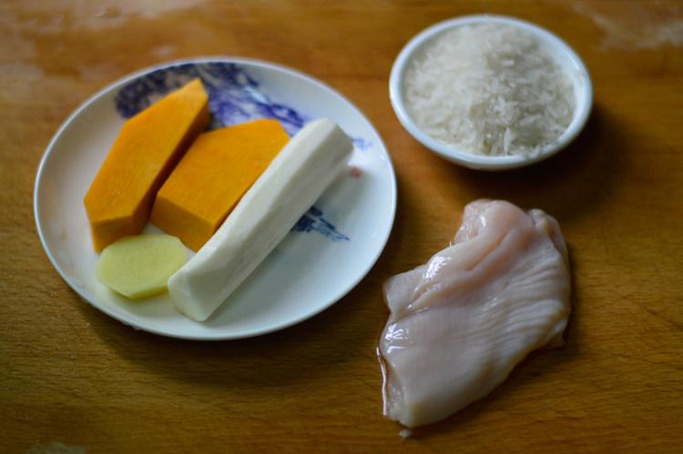 孩子輔食是關鍵,南瓜雞肉加米飯,營養升級,寶寶好胃口