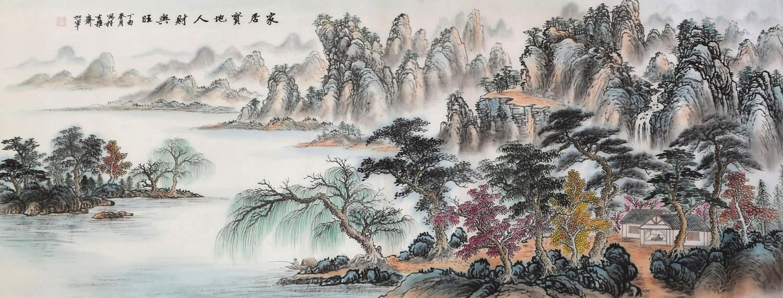 江苏省美术家协会会员戈加军签约字画之家