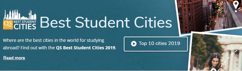 2019QS全球最佳留学城市排名:伦敦第一,美国无一进前十!