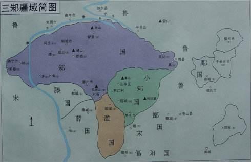 """山东滕州发现的136座东周墓葬会是属于""""三分邾国""""的滥国吗?"""