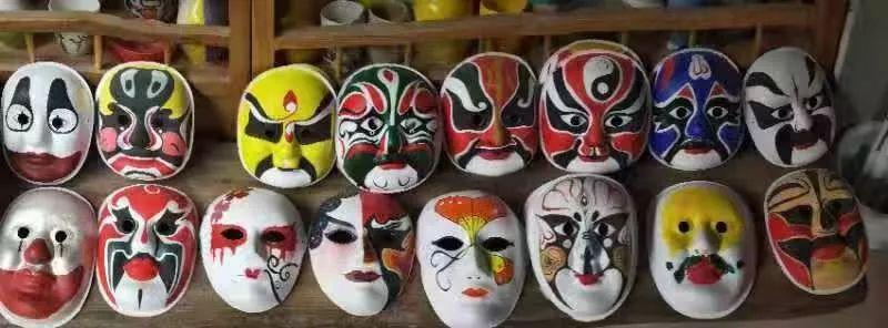 手绘面具diy |