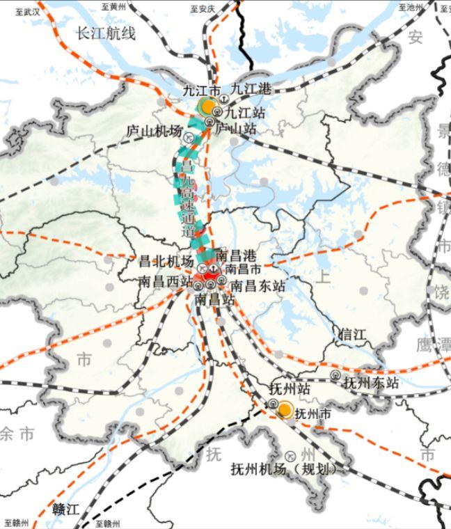 涟水规划图大图_大南昌都市圈交通规划图(2019-2025年)_建设