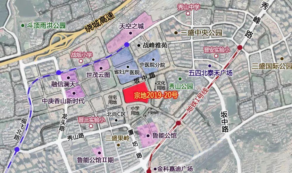 福州五四北最新规划图