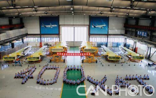 西飞国际航空公司交付第400架空客A320飞机机翼