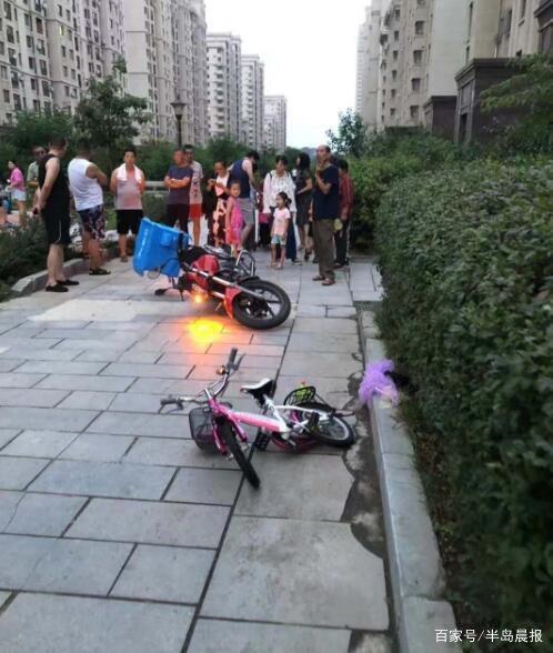 事发大连,5岁女孩在小区内被外卖摩托撞昏,抢救无效身亡