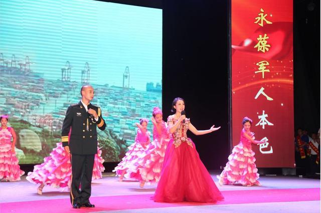 歌伴舞《共圆中国梦》