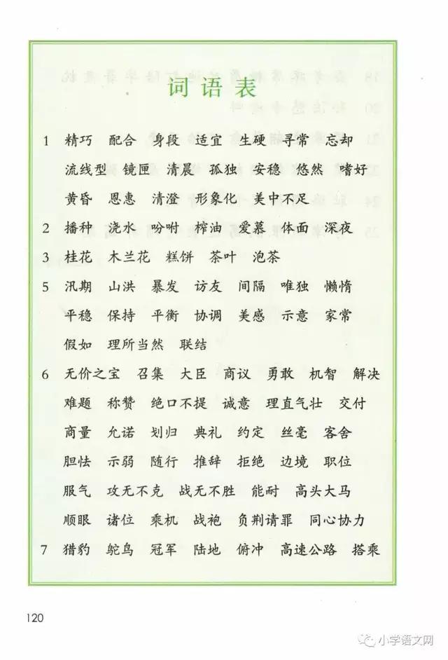 部编版语文五年级(上册)教材电子版