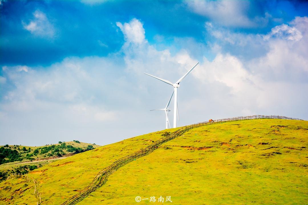 湖南也有大草原,美貌不如呼仑贝尔和黄河大草原,却不缺游客!