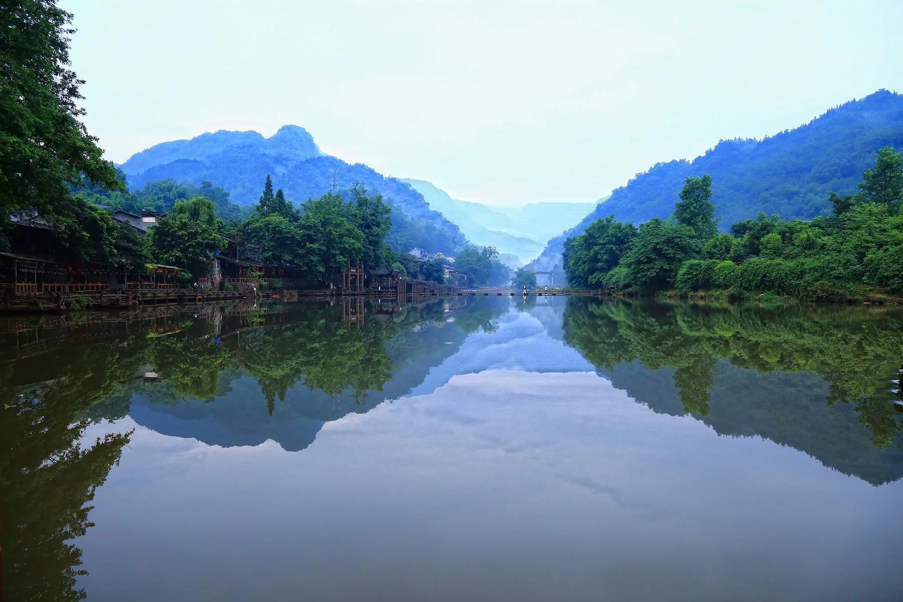 原创             川西九日经典大环线之:新都桥,柳江古镇