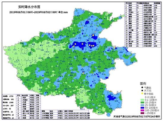 河南:大暴雨缓解高温和旱情 未来一周多阵雨