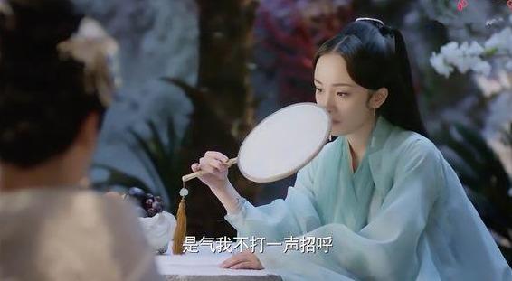 女星古装手持扇子,杨幂赵丽颖林依晨王祖贤,你最喜欢谁拿的扇子