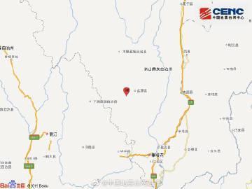 四川凉山州盐源县发生3级地震 震源深度19千米
