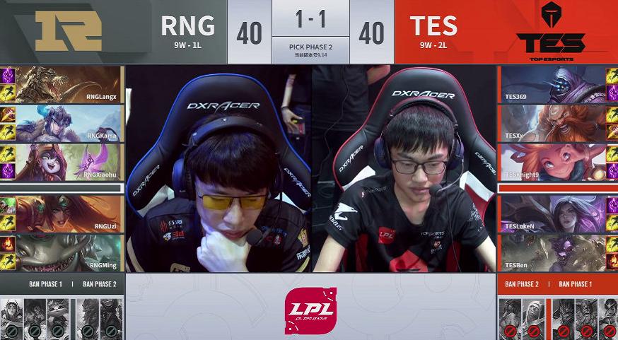 LOL:RNG又一次败在了四保一,TES完美0换5终结比赛!