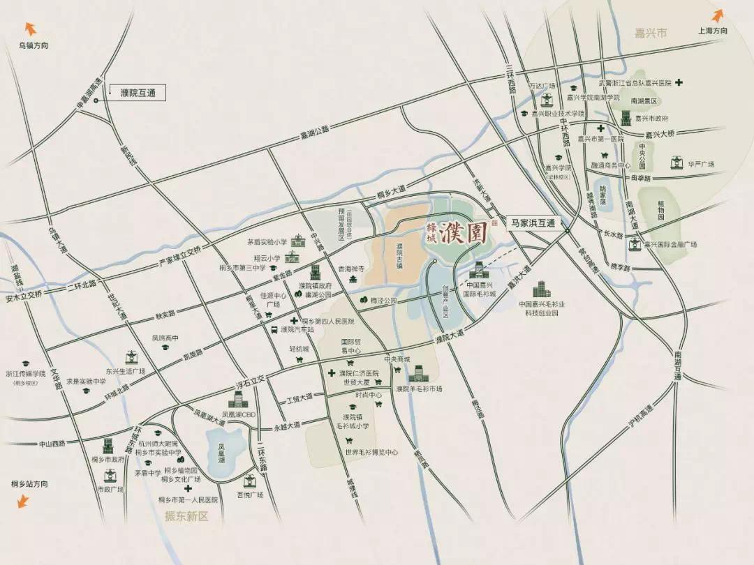 濮院镇人口2020_濮院人口密度图