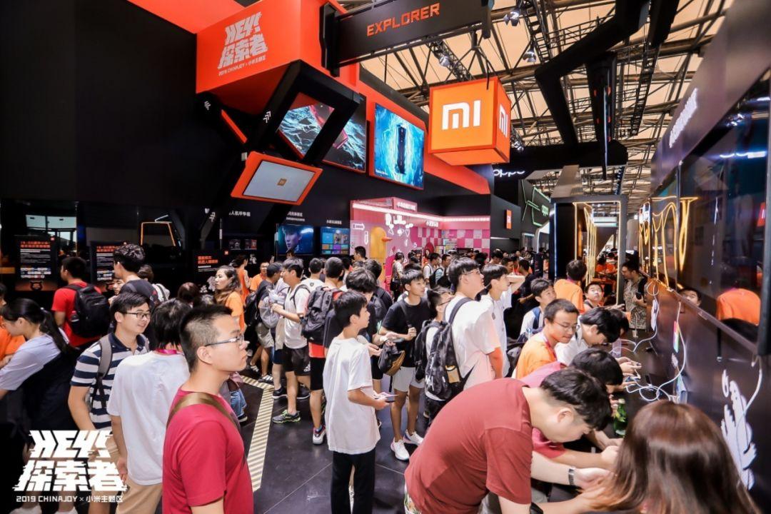 小米携MIX 3 5G版参加ChinaJoy:5G体验成全场焦点