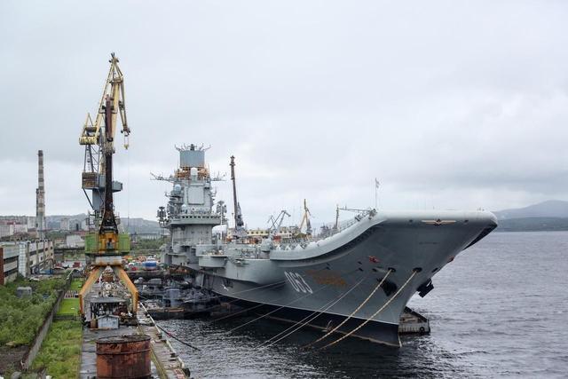 不找中国帮忙,俄罗斯恢复航母维修,舰载机飞行员欲哭无泪