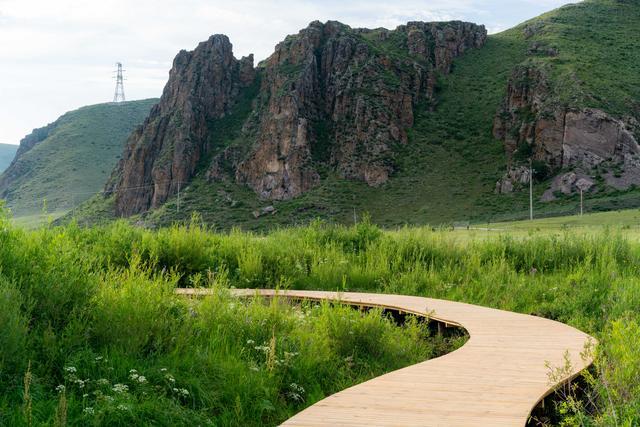 京北草原上的天然博物馆 万花丛中过炎夏