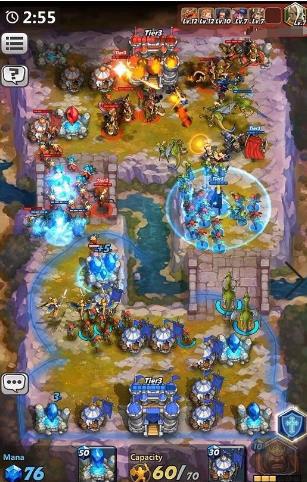 蓝洞即时战略手游《燃烧王座》首测结束,完美RTS体验